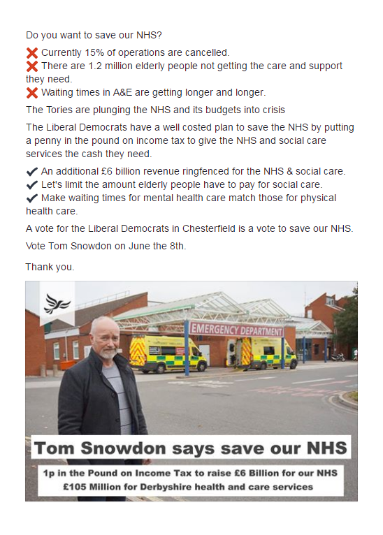 Tom On The NHS