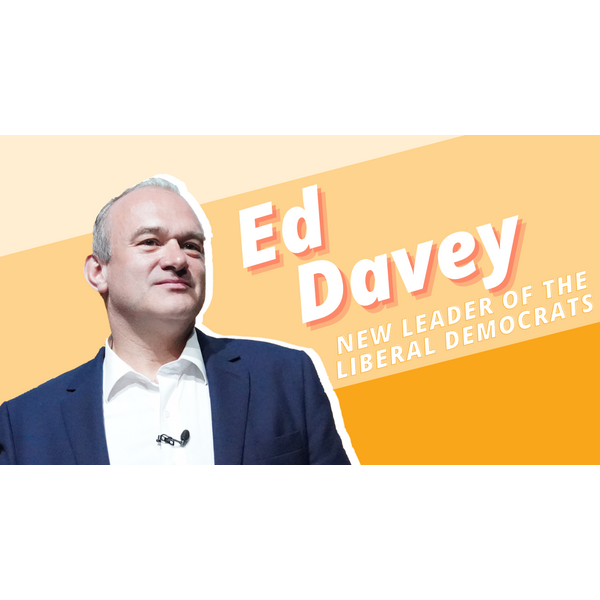 Ed Davey, Leader of the Lib Dems