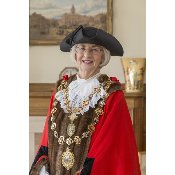 Cllr Glenys Falconer, Mayor of Chesterfield